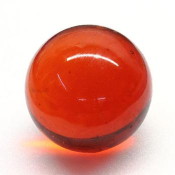 60 mm Glaskugeln ORANGE-ROT