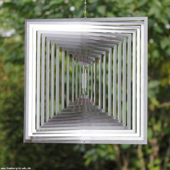 Windspiel Gartendeko - MAGISCHES QUADRAT | GROSS