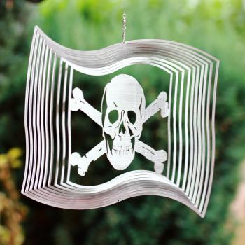 Piratenflagge Windspiel
